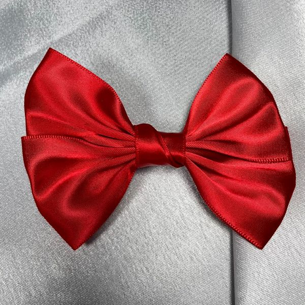 barette uni rouge