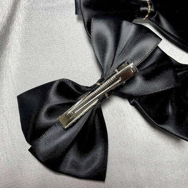 barrette noir dos