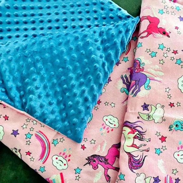 couverture bébé licorne 1