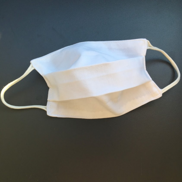 masque barrière blanc enfant kalavy