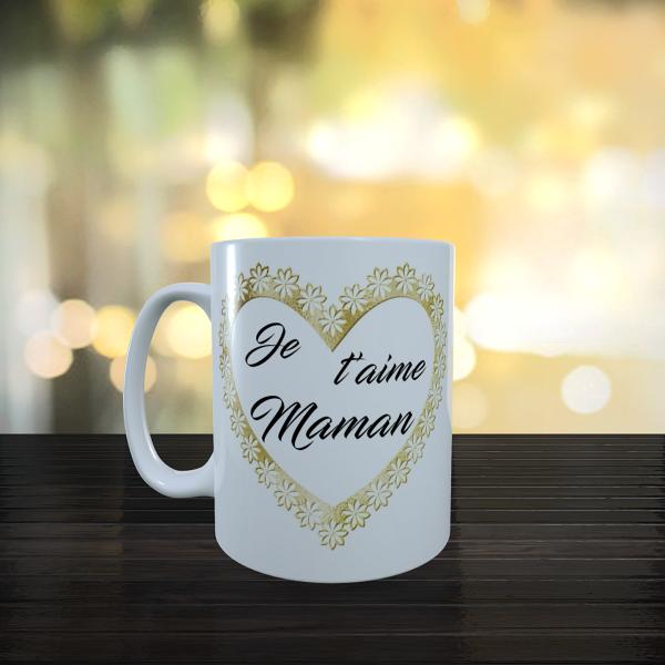 Mug je t'aime maman dvt