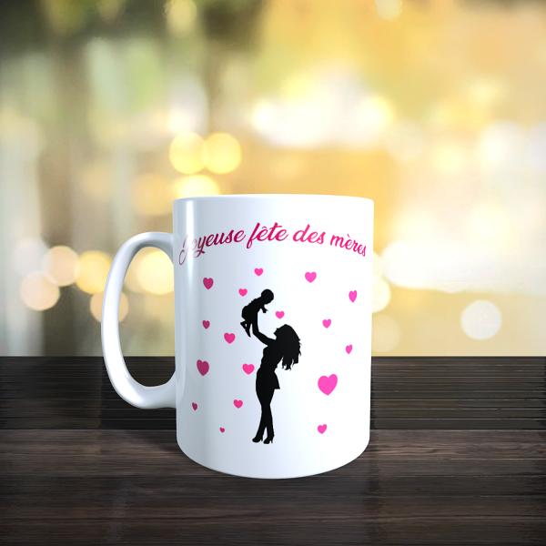 Mug joyeuse fête des mères dvt