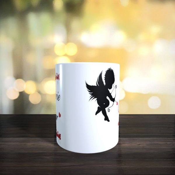 mug ma chérie d'amour saint valentin 2