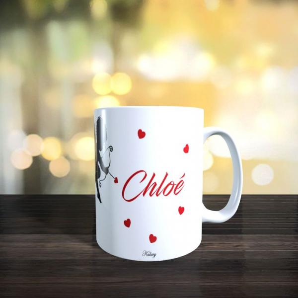Mug ma chérie d'amour saint valentin 3