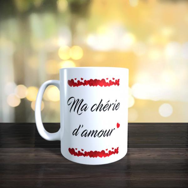 Mug Ma chérie d'amour