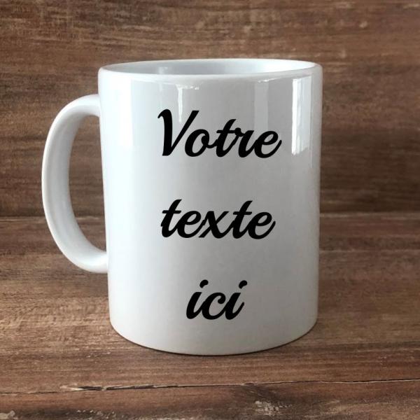 mug votre texte ici