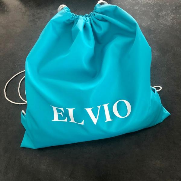 sac à cordon imperméable turquoise