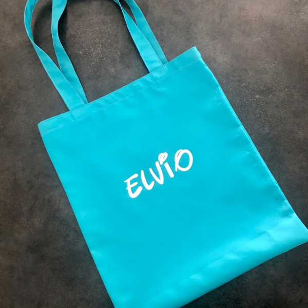 tote bag imperméable turquoise Kalavy